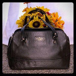 Kate Spade Black Cow Leather Handbag